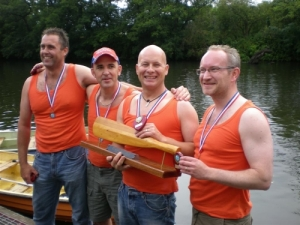 Long Eaton's winning crew
