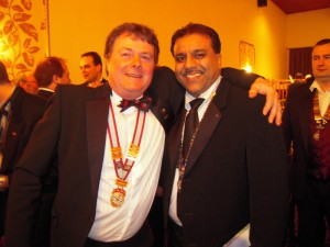 Chairman Shahid with President Pete