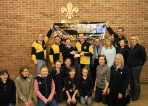 "Beeston ""boys"" help out Girl Guides"