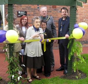 Opening of new Sensory Garden