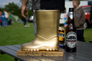 Golden Welly Trophy. Fuelled by Magners, rather than sponsored by.