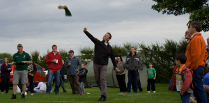 A variety of wanging styles were on show